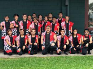 Team photo of Taishoji Taiko