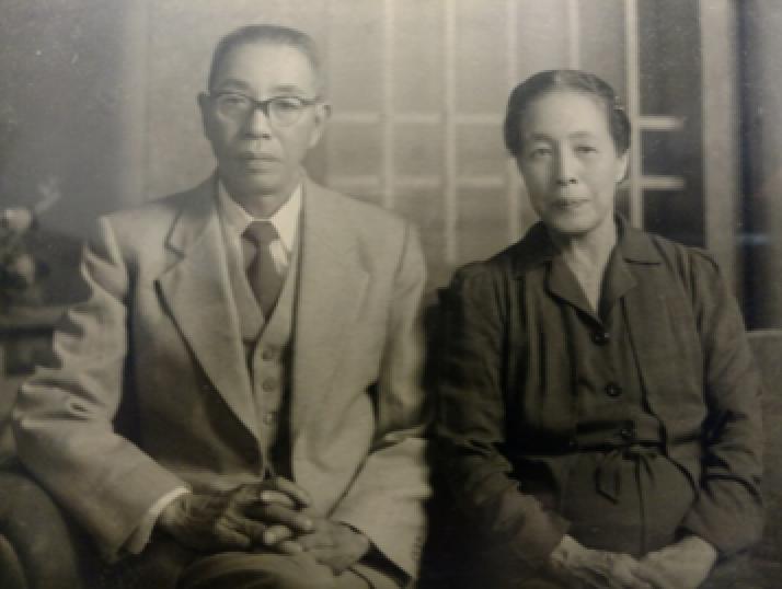 Onaka Ranch founder Kiichi Onaka and his wife Rei. (Photo courtesy Charlie Onaka)