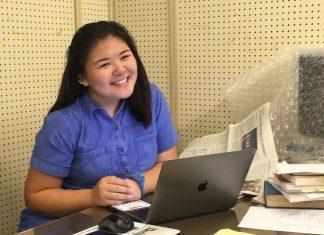 Photo of Hawaii Herald's summer intern, Kacie Yamamoto, a recent graduate of Moanalua High School.