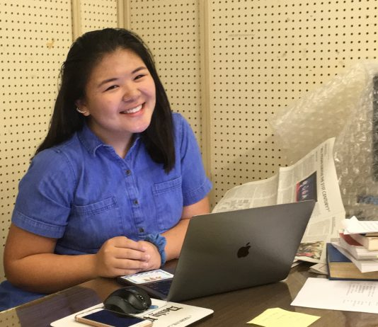 Photo of Hawaii Herald's summer intern, Kacie Yamamoto, a recent graduate of Moanalua High School.