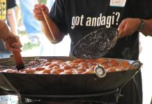 "Smile and say ""Andagi!"" It's everyone's Okinawan Festival favorite."