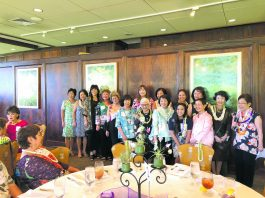 The Japanese Women's Society Foundation installed their 2019-2020 board and committee directors on Sunday, July 28 at the Oahu Country Club.