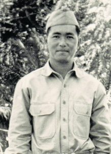 Two of Audrey (Nakamura) Case's uncles — PFC Sadao Hikida — served in the 100th/442nd during the war. (Courtesy Audrey Case)