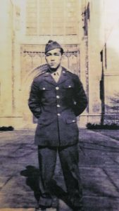 Two of Audrey (Nakamura) Case's uncles — PFC Yoshio Hirata — served in the 100th/442nd during the war. (Courtesy Audrey Case)