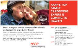 Ad for AARP Family Caregiving