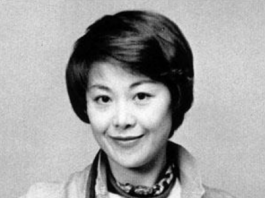 Black and white photo of Jun Ariake