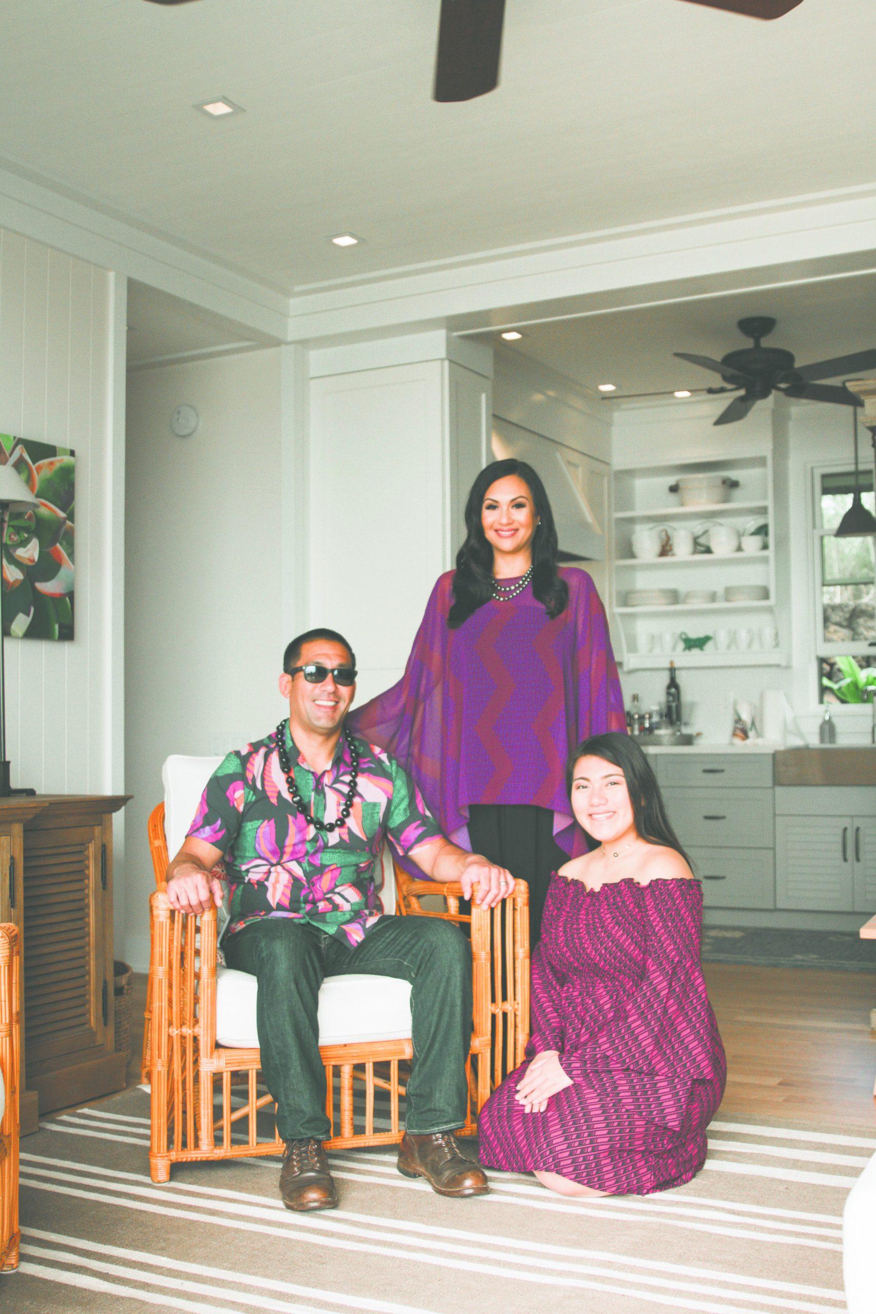 Mayor Kawakami with his wife Monica and their daughter Hailee. (Photo courtesy Monica Kawakami)