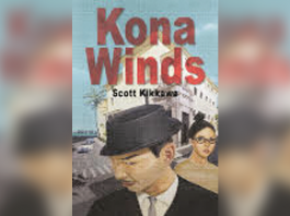 Book cover with title 'Kona Winds' by Scott Kikkows
