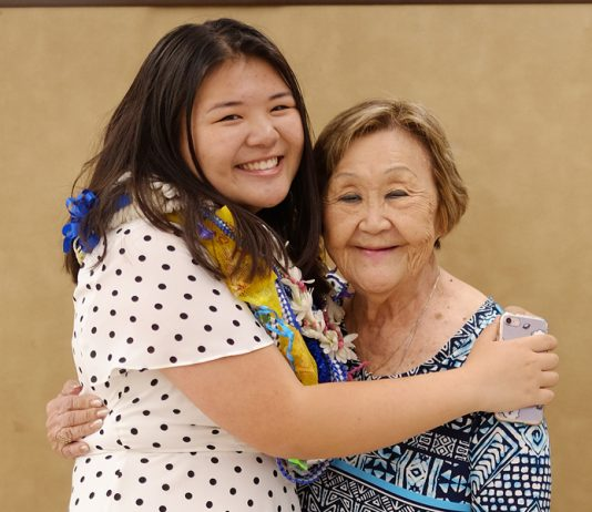 Kacie says her grandmother's ties to Hawaiian culture through hula and her ancestral roots in Japan reflect her hybrid culture. (Photo courtesy Kacie Yamamoto)