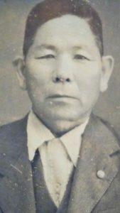 Matsuni Nakasone, an Issei pioneer who started farming coffee in Kona in the 1920s.