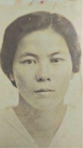 Moto Nakasone, an Issei pioneer who started farming coffee in Kona in the 1920s.