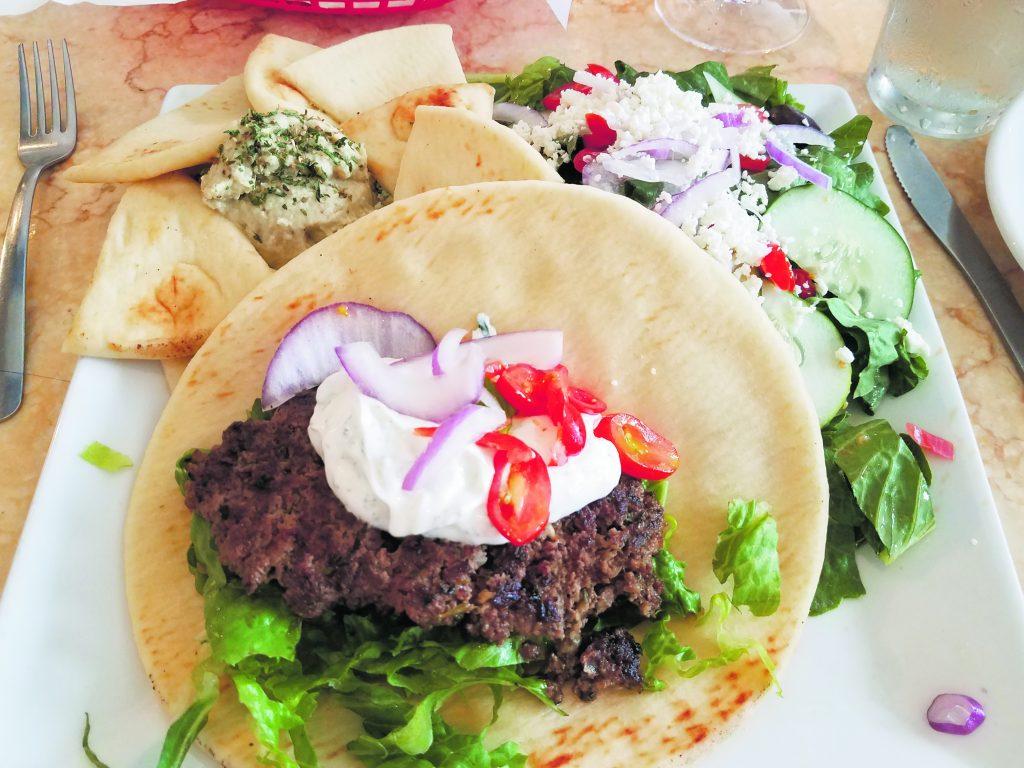 Shawarma plate from Yamas Mediterranean Cuisine. (Photo courtesy Ryan Tatsumoto)