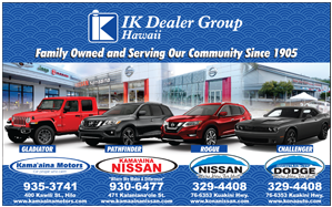 Ad for IK Dealer Group 'Family owned and serving our community since 1905'