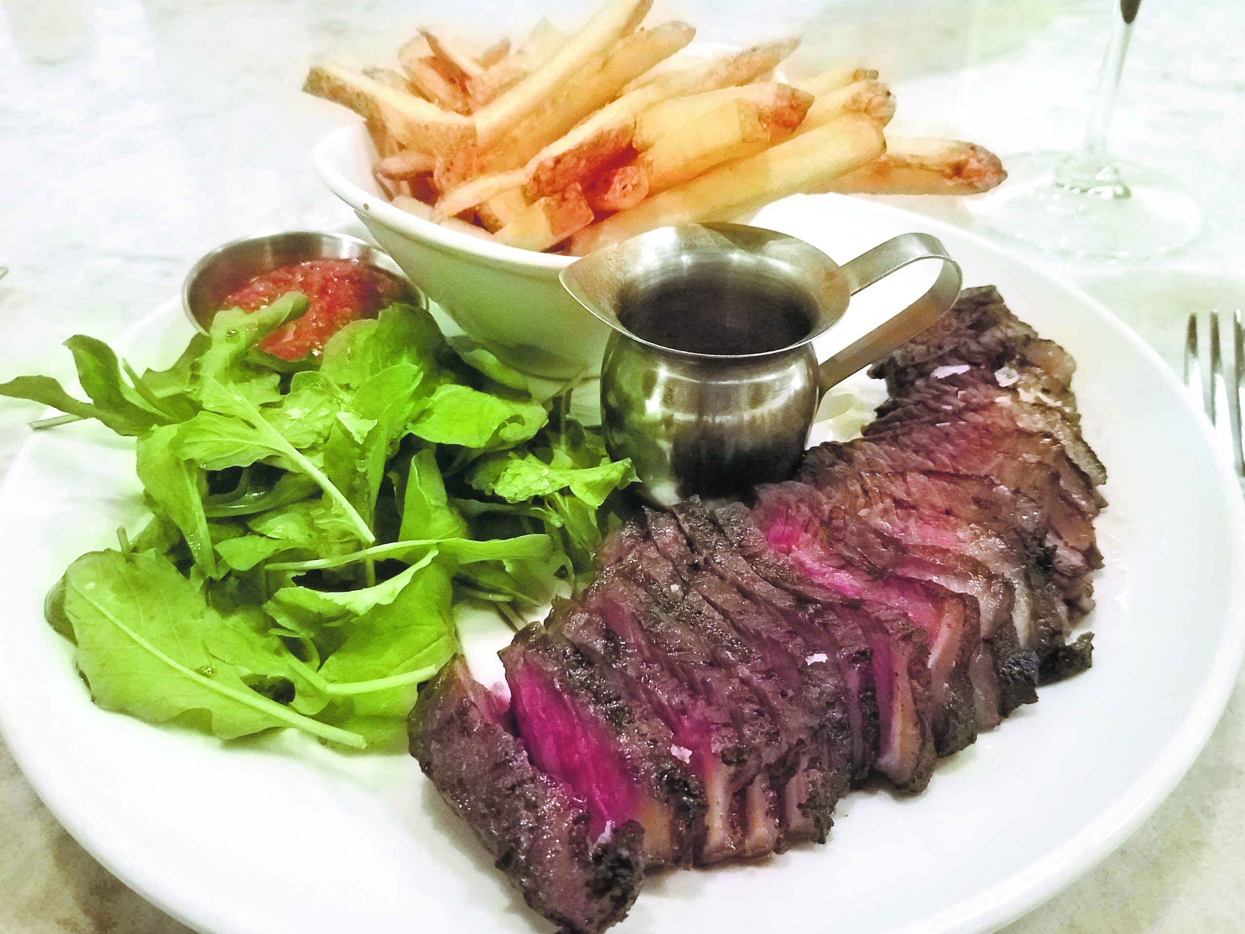 Bistro steak frite