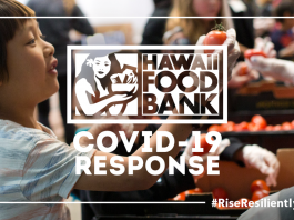 Graphic for Hawaii Food Bank 'COVID-19 Response'