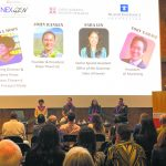 """Approximately 65 people attended a panel discussion entitled """"The Next Generation of Leadership: Embracing Change While Preserving Traditions"""" hosted by JASH. (Photo courtesy JASH)"""