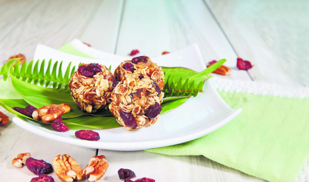 Picture of no-bake energy balls