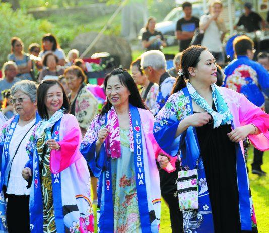 Bon dance festival 2019 at Hawaii's Plantation Village. (Photo by Wayne Shinbara)