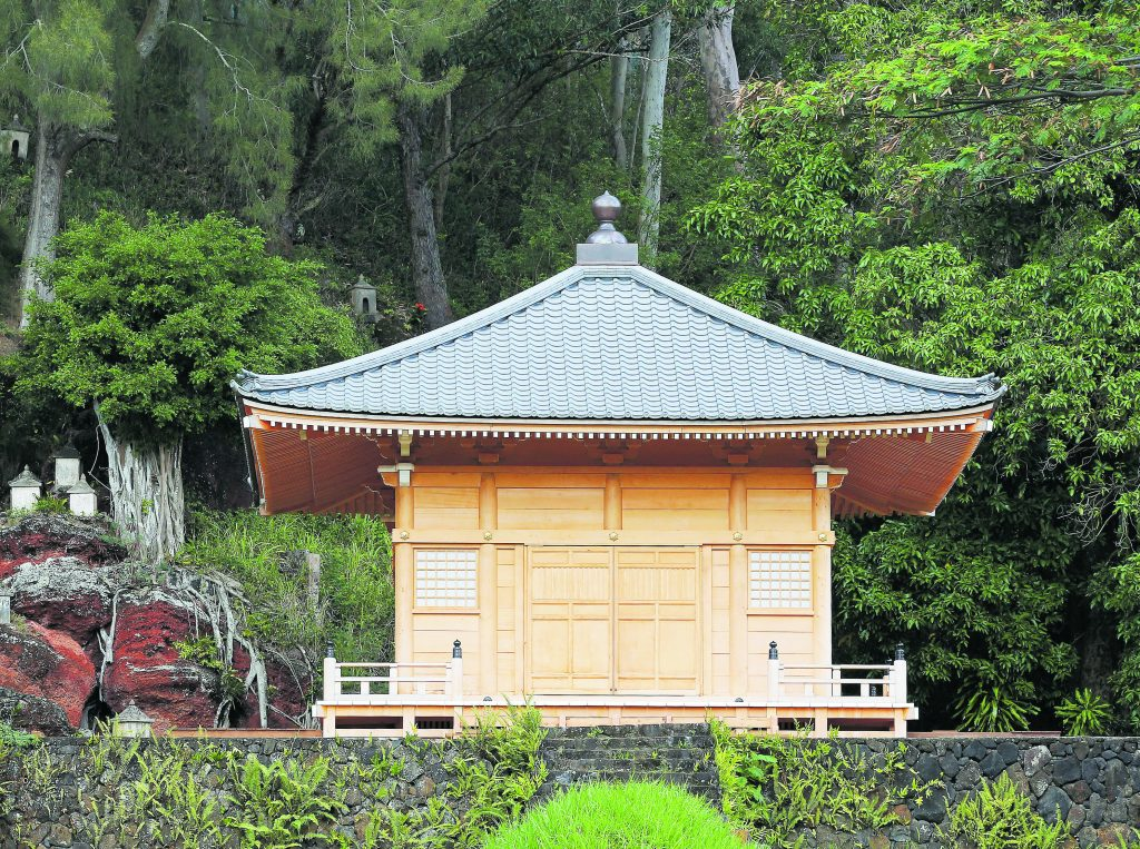 The Hall of Compassion took 1,600 volunteers and supporters from the community to build. (Photo courtesy Läwa'i International Center)