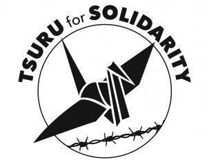 Logo for 'Tsuru for Solidarity'