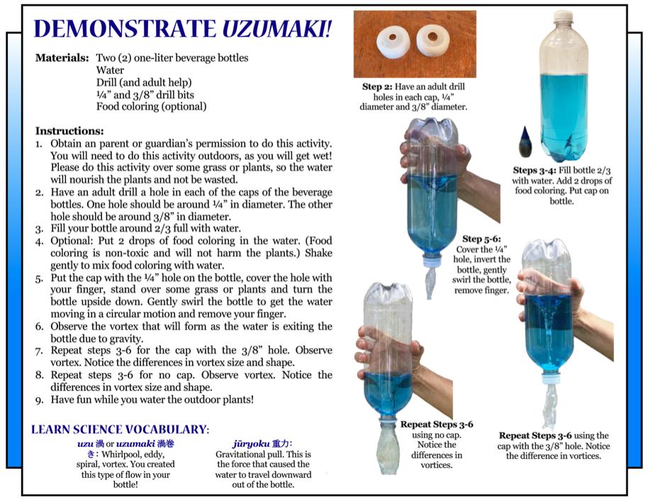 Culture 4Kids 'Demonstrate Uzumaki!', 6/19/2020 Issue