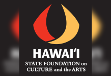 Logo for the Hawaiʻi State Foundation on Culture and the Arts