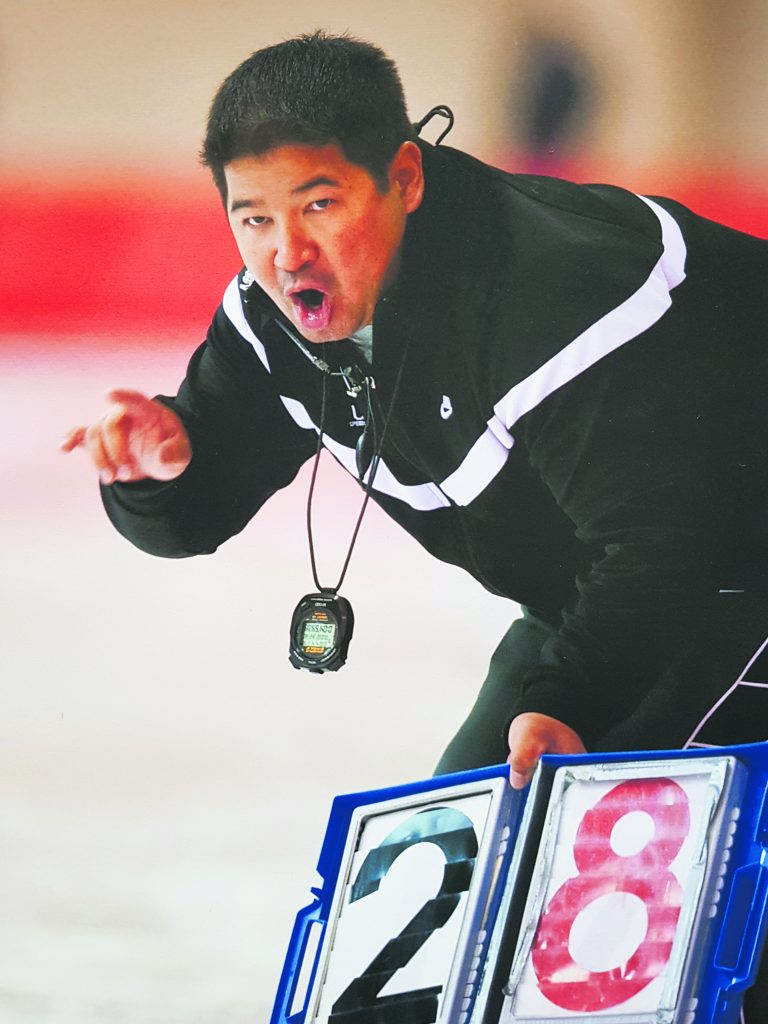 Between 2006-2010, Shimabukuro coached at the Pettit National Ice Center in Milwaukee, Wisconsin. (Photo by Bill Meyer)