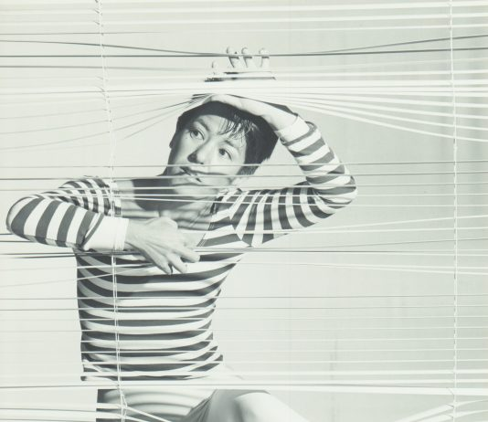 """Yukie Shiroma in her """"Blind Visions"""" (1987), performed at the University of Hawai'i while Shiroma worked towards her MFA in dance. (Photos provided by Yukie Shiroma)"""