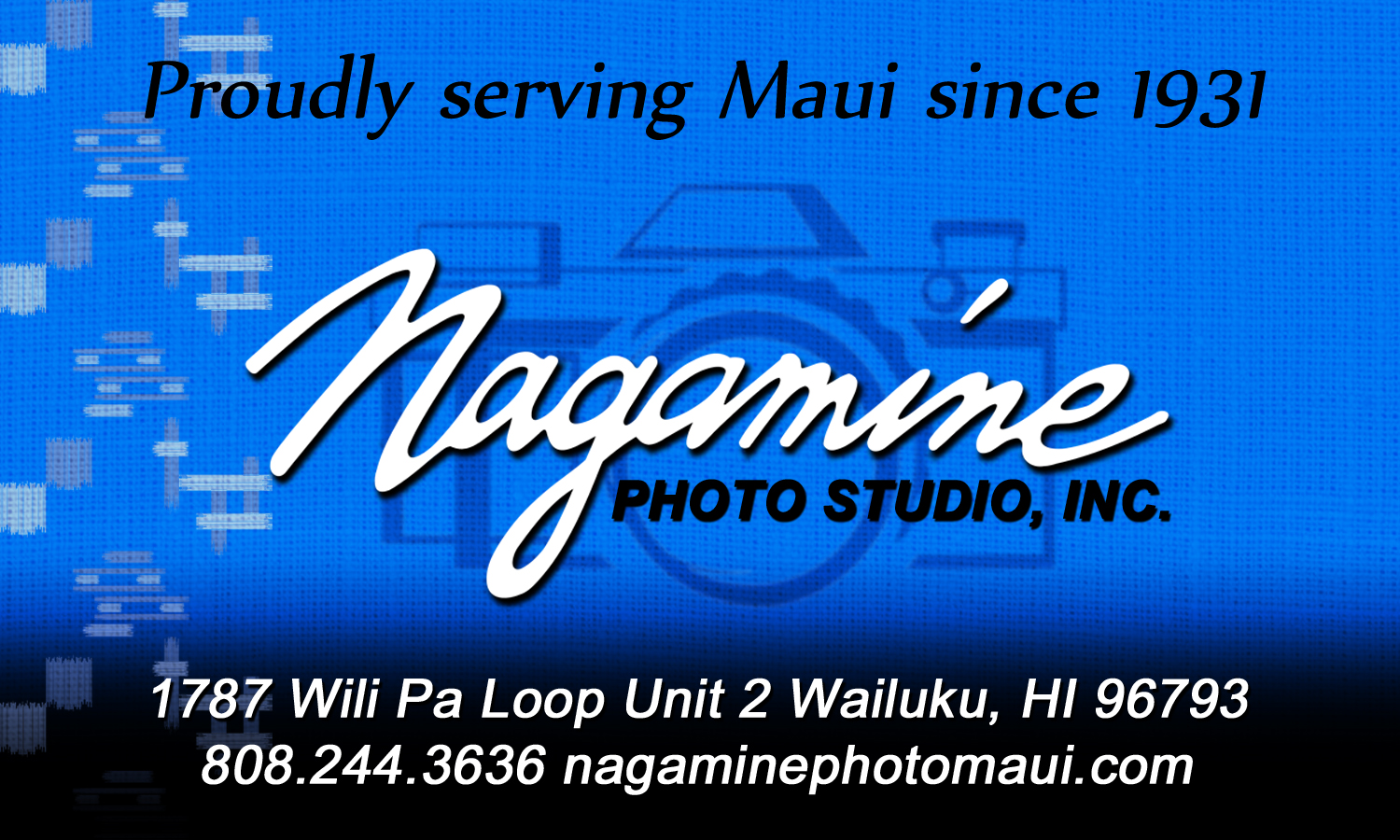 Nagamine Photo Studio Inc