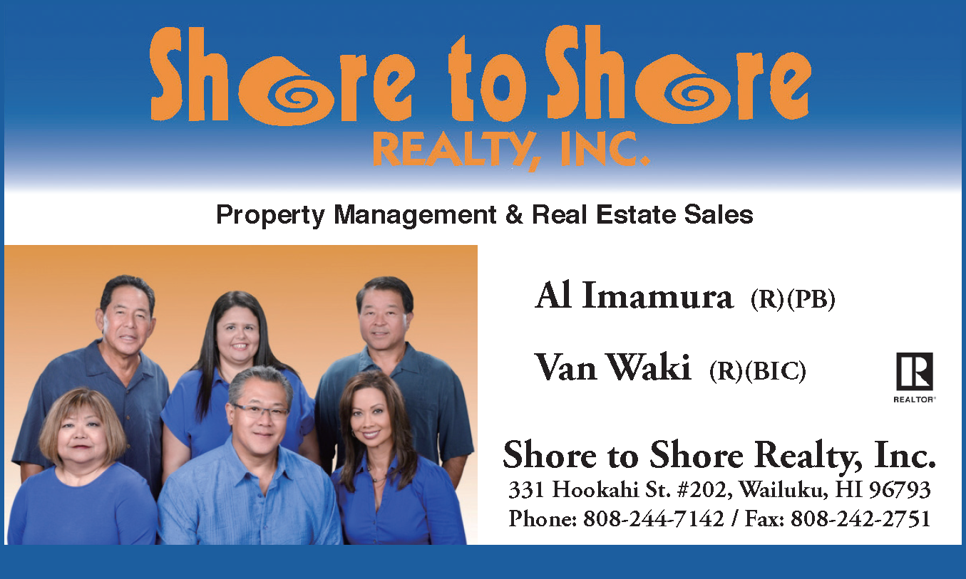 Shore to Shore Realty Inc property management and real estate sales