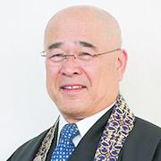 Rimban (chief minister) Toyokazu Hagio of Honpa Hongwanji Mission