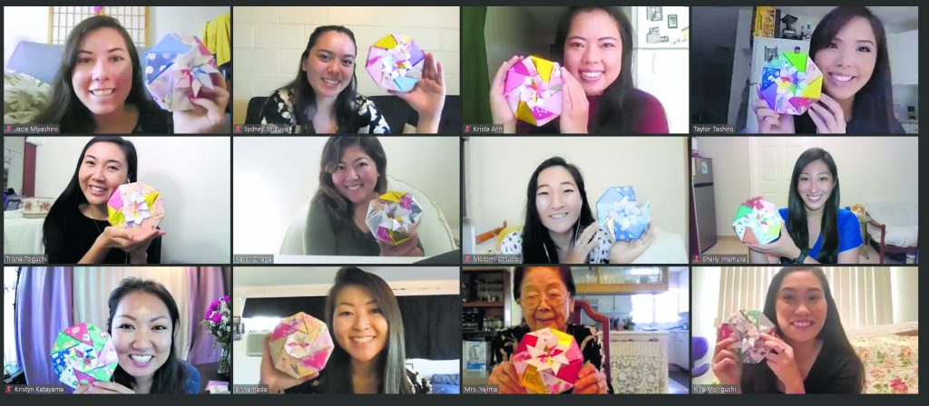 CB Festival = Hawaii Herald Origami Class