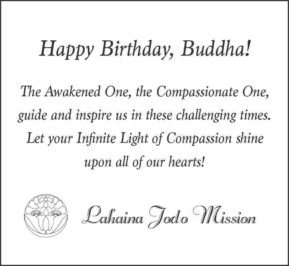 Happy Birthday, Buddha!