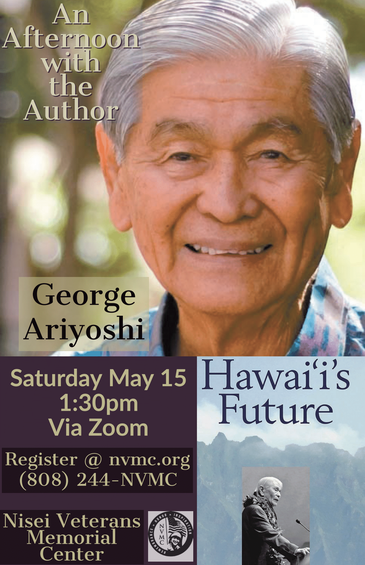 spend the afternoon with george ariyoshi