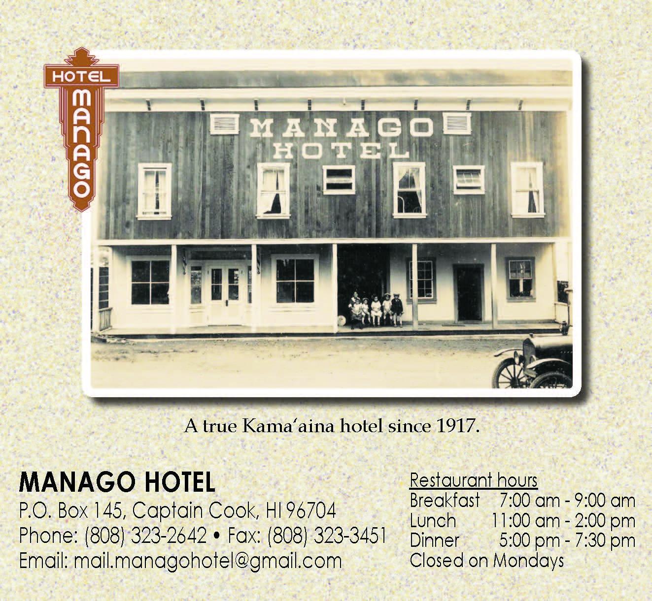 Manago Hotel Ad
